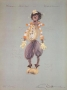 The Wiz Costume Lithograph Of Michael Jackson As Scarecrow (1978)