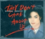 They Don't Care About Us (6 Mixes) CD Single (UK)