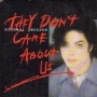 They Don't Care About Us (2 Tracks) Cardboard CD Single (France)