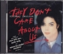 They Don't Care About Us (1 Mix + 3) CD Single (USA)