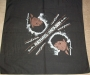 Thriller LP Cover (Artistic Drawing) Black & Light Brown Unofficial Bandana (USA)