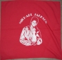 MJ In Brown Leather Jacket Pose Red & White Unofficial Bandana (USA)
