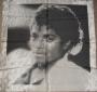 Thriller LP Cover (Face) Unofficial Black & Gray Bandana (USA)