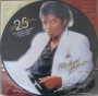 Thriller 25 Official Picture Disk (UK)
