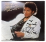 Thriller Album Signed By Michael *To Beverly* (1982)