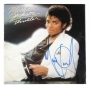 Thriller Album Signed By Michael Jackson #05 (1982)