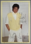 Thriller Era Promo Poster Signed By Michael (1984)