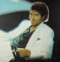 Thriller LP Cover Oil Painting By Paul Bedard (1983)