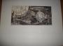 Thriller LP Insert Original Artwork *Unused Futuristic Drawing* (USA)
