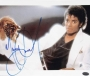 "Thriller Portrait Signed 10""x8"" Color Photograph (1983)"