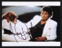 "Thriller Portrait Signed 10""x8"" Color Photograph #2 (1983)"