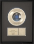 Thriller RIAA Gold Award For The Sale Of 500,000 Copies Of The 7'' Single In USA