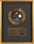 """Thriller 7"""" Single RIAA Gold Record Award Presented To Epic Records (1983)"""