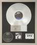 Thriller RIAA Multi-Platinum Award For The Sale Of 28 Million Copies Of The Album In USA