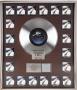 Thriller RIAA Multi-Platinum Award For The Sale Of 20 Million Copies Of The Album In USA