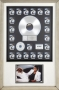 Thriller RIAA Multi-Platinum Award For The Sale Of 21 Million Copies Of The LP/Cassette/CD In USA #2