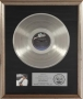 Thriller RIAA Record Award For 20 Million Sold (1983)