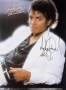 Thriller Songbook Signed By Michael (1983)
