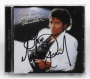 Thriller Special Edition CD Album Signed By Michael (2001)