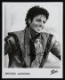 Thriller Video Promo Photo Signed By Michael #2 (1984)