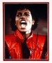 Thriller Video Photo Signed By Michael (1983)