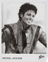 Thriller Video Promo Photo Signed By Michael #3 (1984)