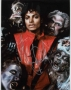Thriller Video Signed Color Photograph *Closeup* #2 (1983)