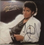 Thriller Album Signed By Michael Jackson #02 (1982)