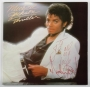 Thriller Vinyl Album Signed By Michael *To J.C. Suares* (1982)