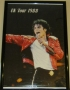 UK Tour 1988 Unofficial Commercial Poster *Beat It Live From Japan* (England)