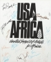 USA For Africa Promo Poster Signed By Michael And Many Other Artists (1985)