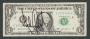 US One Dollar Bill Signed By Michael (2003)