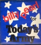 Your Local United States Army Representative Presents Billy Pearl For Today's Army Radio Broadcast Album (USA)