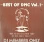 "Best Of DMC:  Vol. 1 ""The Michael Jackson Megamix"" Disco Label 12"" Single (UK)"