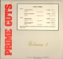 "Prime Cuts:  Volume 2, #3 Smooth Criminal (Smokin' Gun Edit) (6:06) Disco Label 12"" Single (USA)"