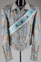 Victory Tour Turquoise Brocade Jacket With Crystals (1984)