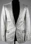 Victory Tour Silver Lamé Suit Jacket (1984)