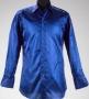 Virgin Mega Store Record Signing Blue Long Sleeve Shirt (2001)