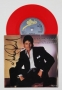 Wanna Be Startin' Somethin' Red Vinyl Single Record Signed By Michael (1983)