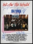 We Are The World Original Sheet Music Signed By Michael (1985)