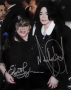 Wedding Of Liza Minelli And David Gest Photo Signed By Michael And Elizabeth Taylor (2002)