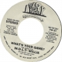 """What's Your Game Promo 7"""" Single (USA)"""