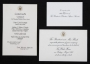 White House Luncheon Menu Signed By Michael (1992)
