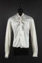 White Long-Sleeve Tuxedo Shirt Worn By Michael Jackson (1970s)