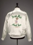 "White Satin Jacket ""Irish Pub And Inn St. James Place"" Worn And Signed By Michael (1990)"