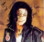 """Who Is It Commercial 12"""" Single Signed By Michael With """"Help Children"""" Message (1993)"""