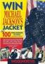 Win Michael Jackson's Jacket Woolworths Promo Double Sided Leaflet (UK)