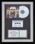 Dangerous RIAA Platinum Award For The Sale Of 4 Million Copies Of The Album In USA (To Zomba Ent.)
