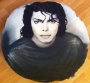 """King of Pop"" Official Round Pillow (Germany)"