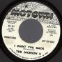 "I Want You Back Promo 7"" Single (USA)"